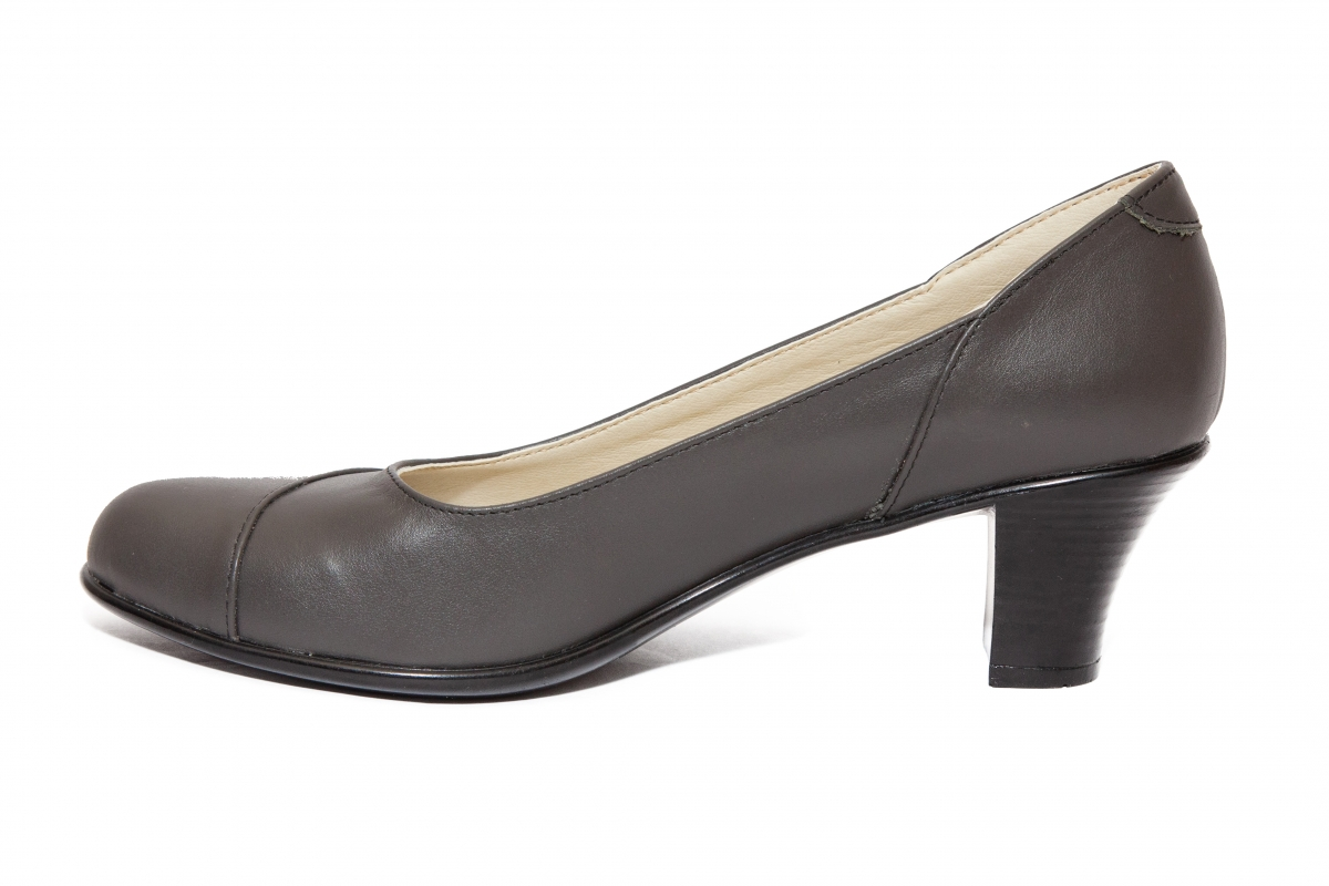 Pantofi dama cu toc 511 gri 34-41