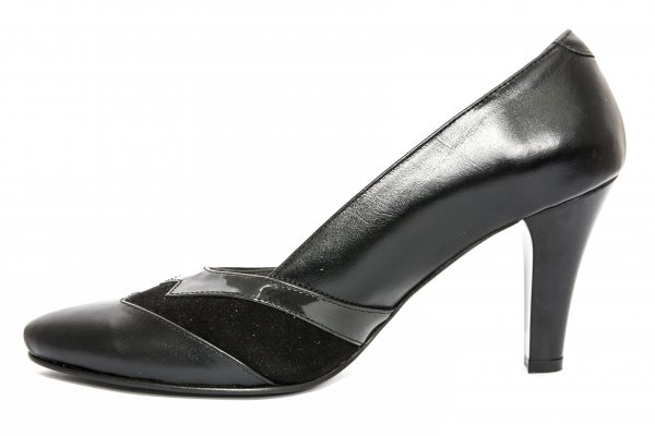 Pantofi dama cu toc 576.5 negru 34-41