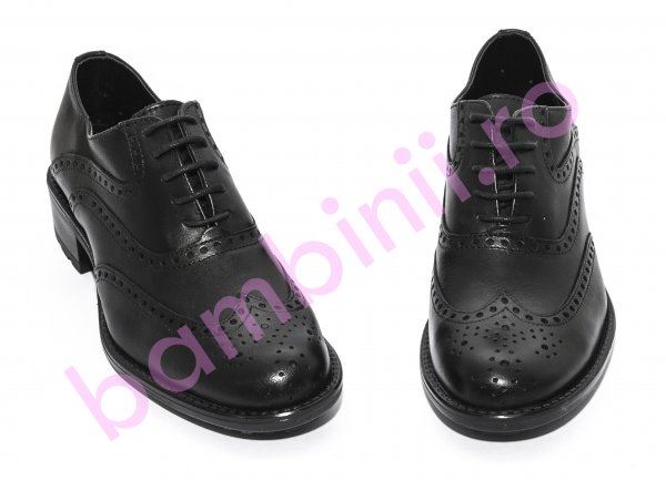 Pantofi dama piele 4201 negru 35-41