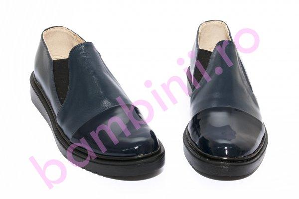 Pantofi dama piele DC5 blumarin lac 34-41
