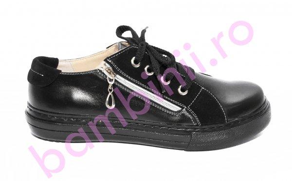 Pantofi dama piele DC6 negru 34-41