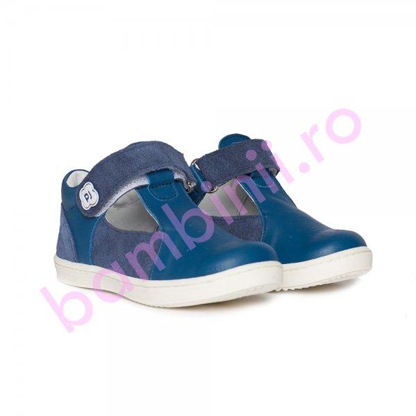 Pantofi decupati baieti Pablo blu 18-26