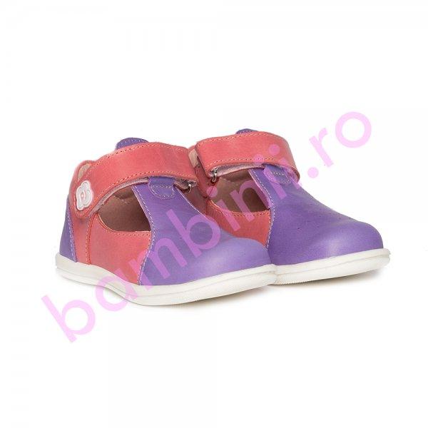 Pantofi decupati fete Pablo mov roz 18-26