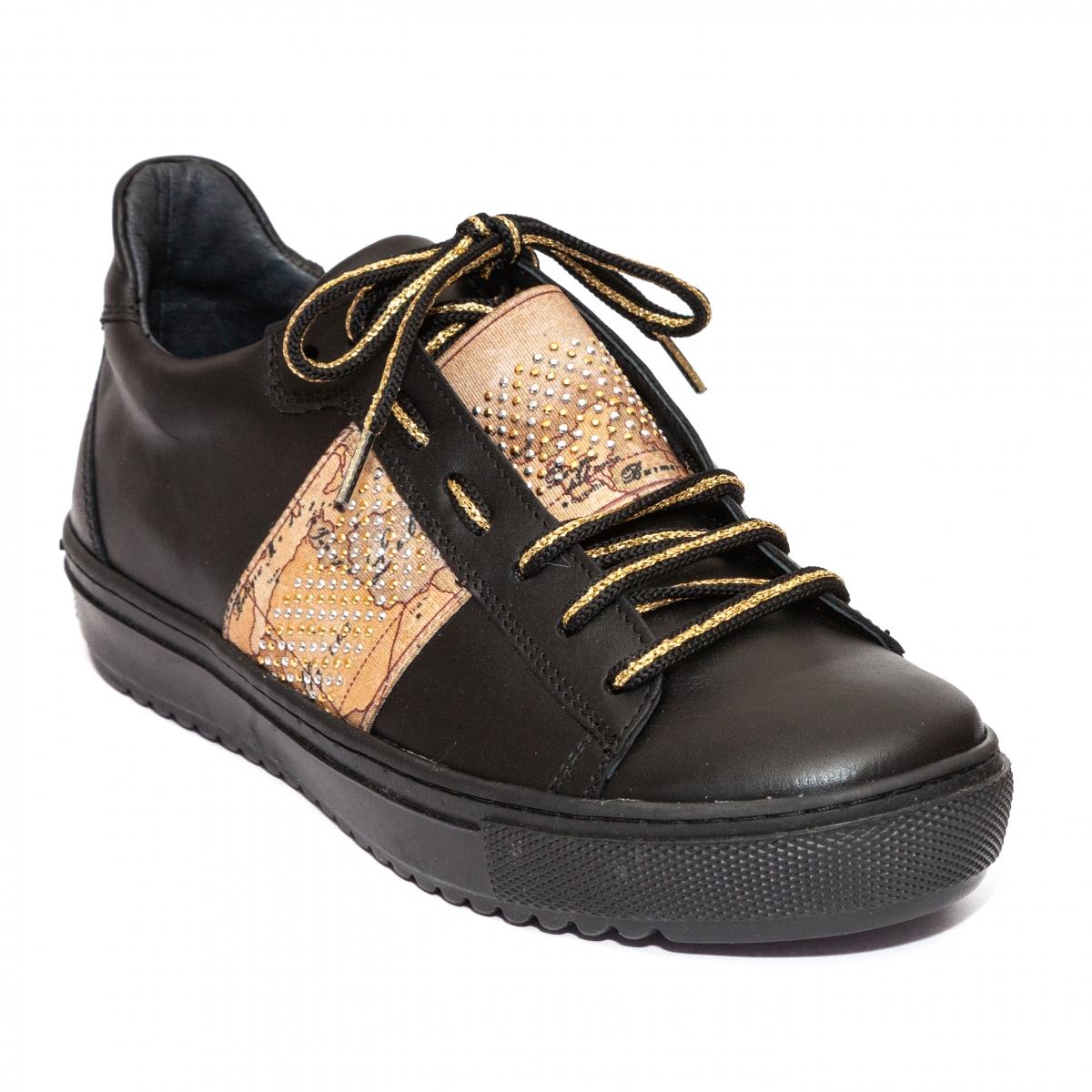 Pantofi domnisoare sport Rappa 2019 negru 35-41