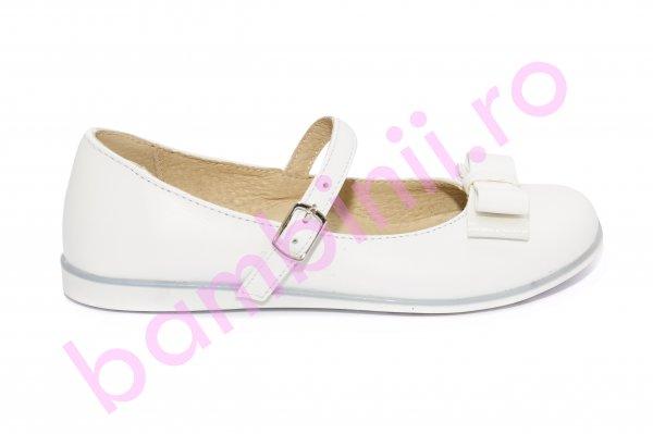 Pantofi fete 1326 alb funda 26-36