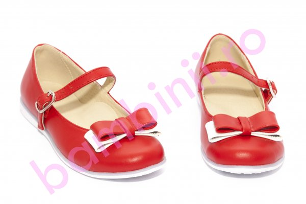 Pantofi fete 1326 rosu new 26-36
