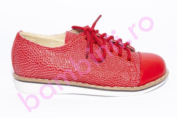 Pantofi fete 1399 rosu rosu lux 20-25