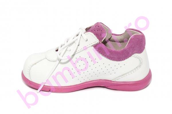 Pantofi fete avus sirio alb roz 19-27