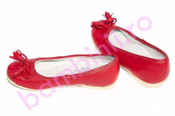 Pantofi fete hokide 330 bordo