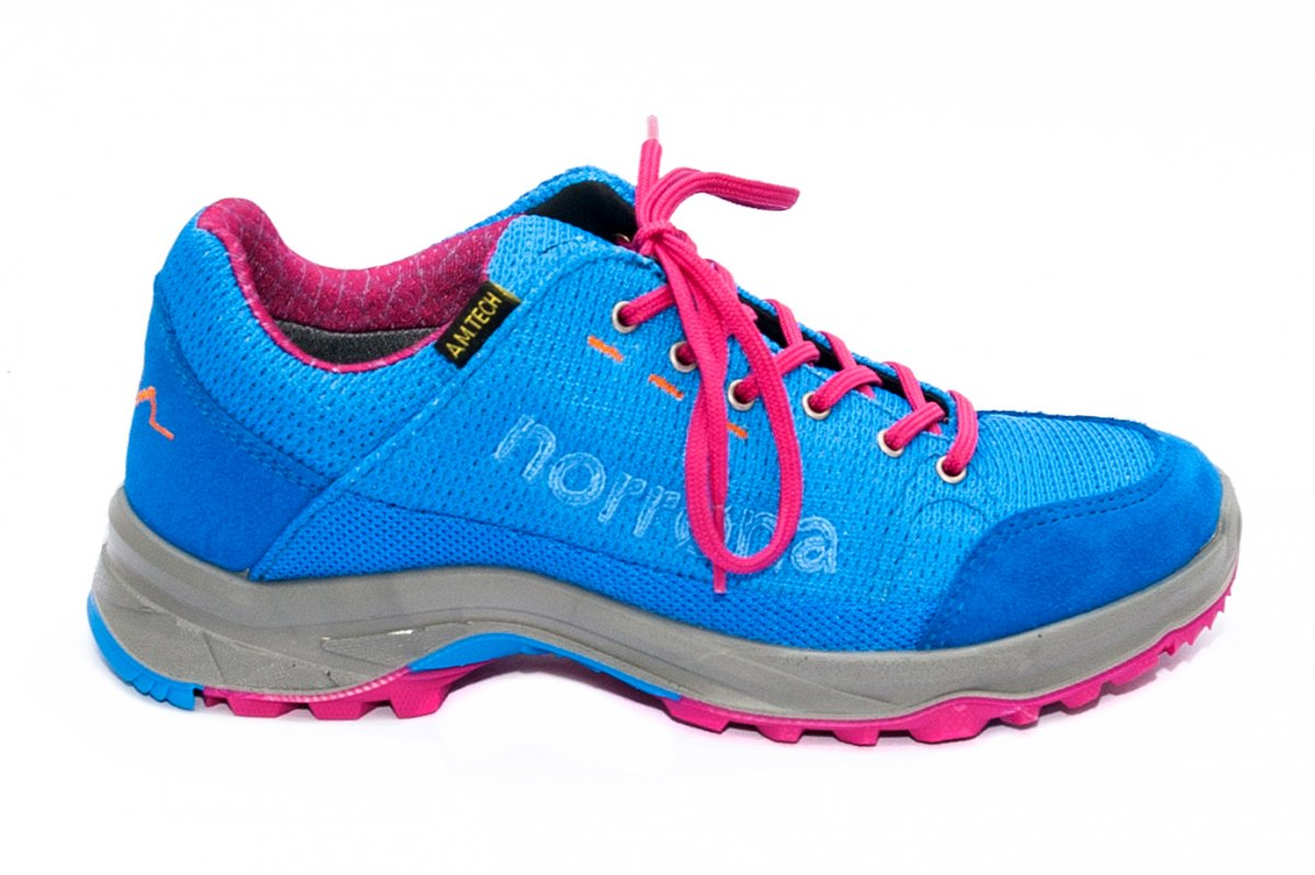 Pantofi fete impermeabili Norrona hovde amt albastru roz 36-40