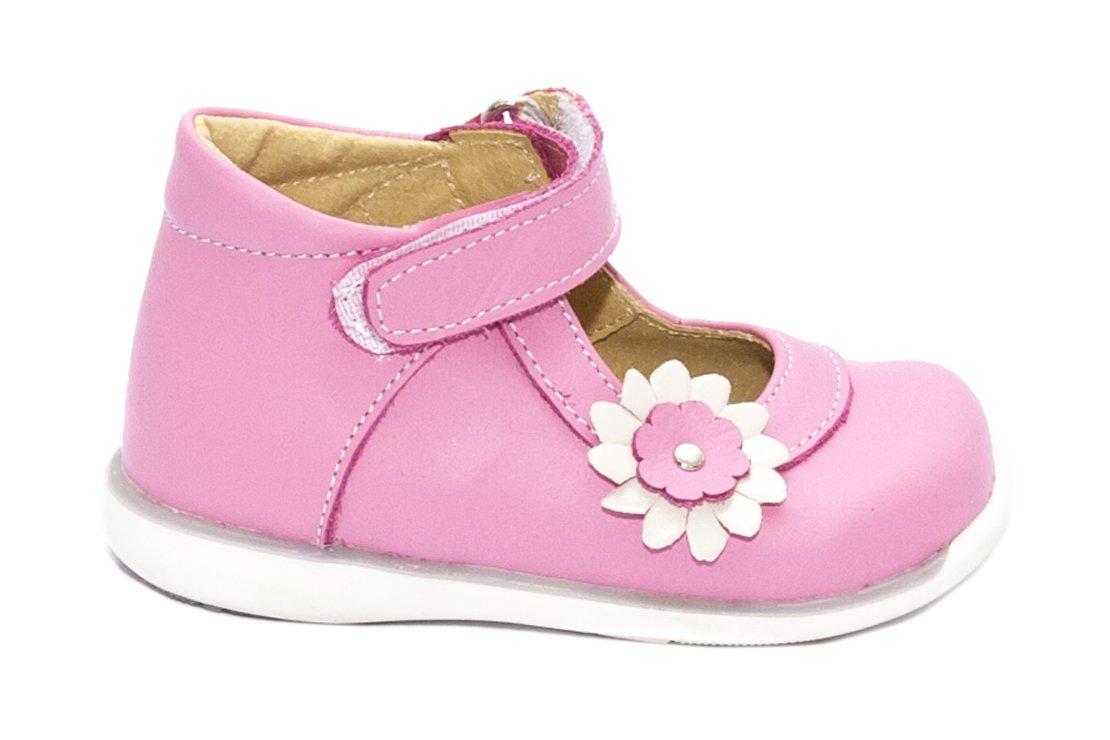 Pantofi fete inalt pe glezna 746 ciclame 18-25