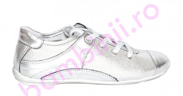 Pantofi fete pj shoes Marika silver 31-38