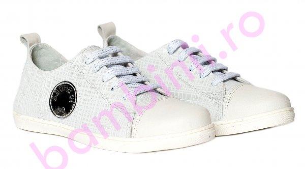 Pantofi fete pj shoes Tag alb 27-36