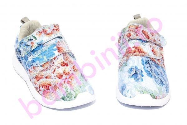 Pantofi fete sport 662 albastru corai 30-35