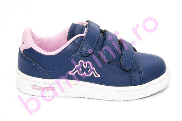 Pantofi fete sport Kappa 302 blu roz 27-34