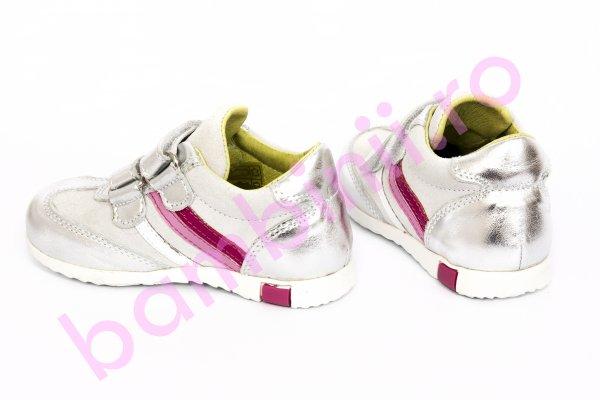 Pantofi fete sport avus 325 argintiu 20-27