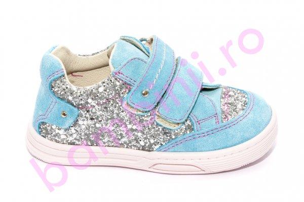Pantofi fete sport avus 444.2 turcoaz 19-27