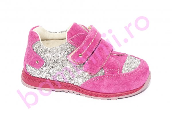 Pantofi fete sport avus 444.3 fuxia 19-27