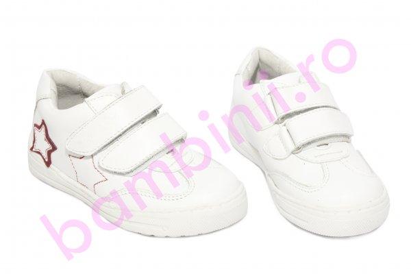Pantofi fete sport hokide 127 alb 26-35