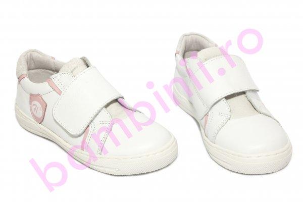Pantofi fete sport hokide 352 alb 26-35