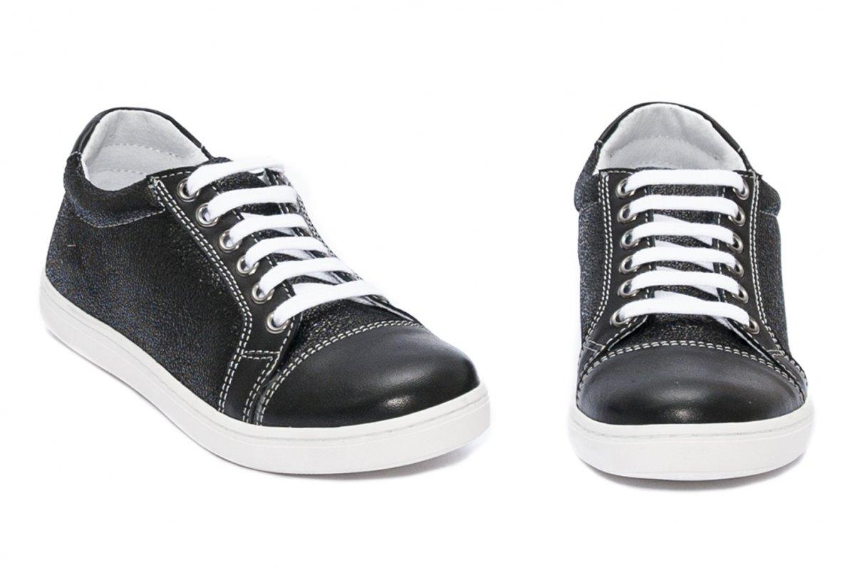 Pantofi fete sport hokide 387 negru lux 26-35