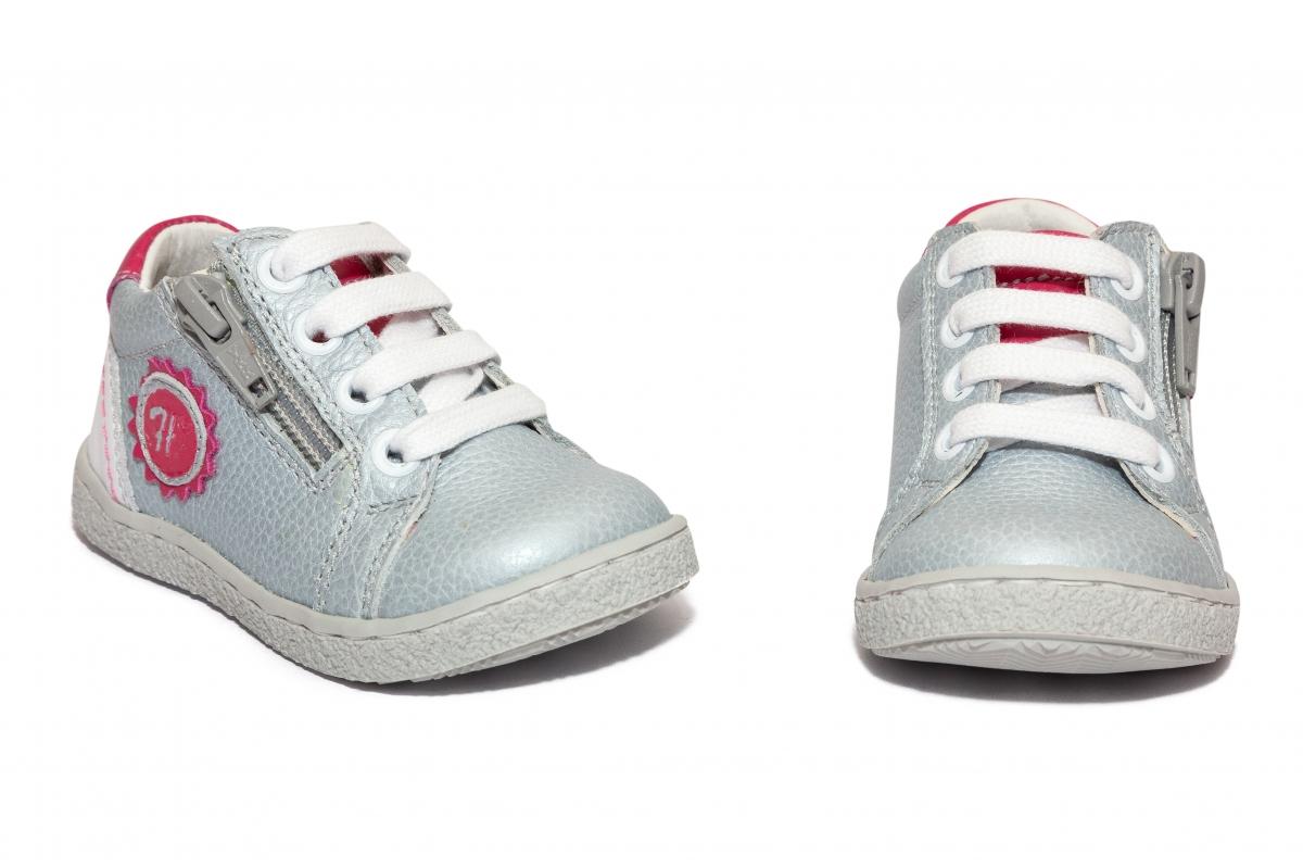 Pantofi fete sport hokide 400 gri roz 18-27