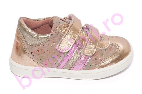 Pantofi fete sport pj shoes Costa auriu 20-26