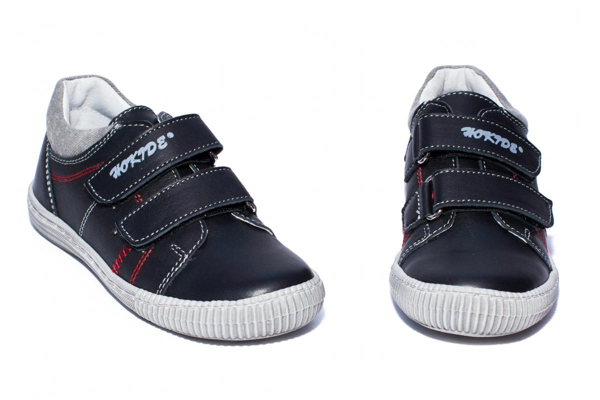 Pantofi flexibili copii sport hokide 352 negru rosu 26-35