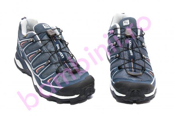 Pantofi impermeabili Salomon X Ultra Gore-tex albastru 36-45