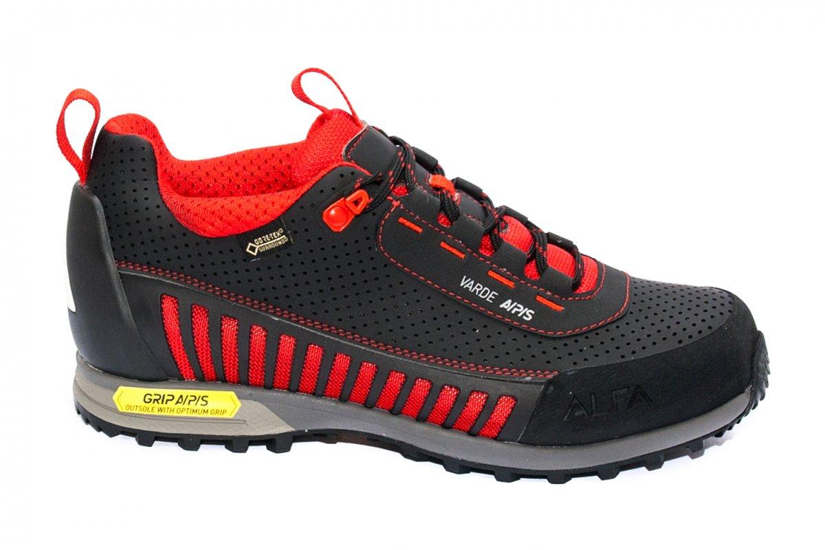 Pantofi impermeabili gore tex vibram Alfa warde GTX negru