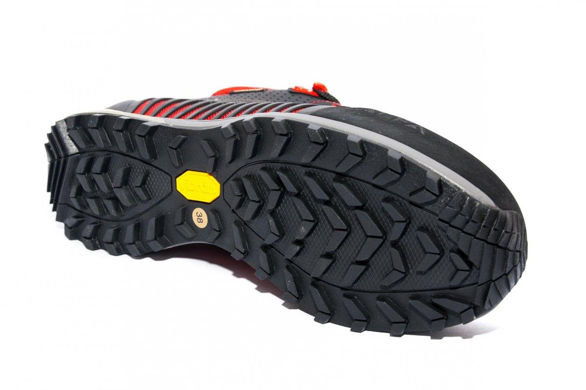 Pantofi impermeabili gore-tex vibram Alfa warde GTX negru rosu 36-45