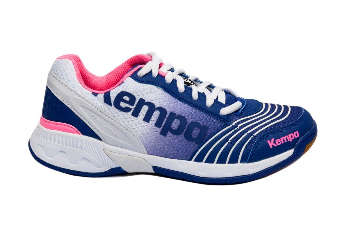 Pantofi kempa fete attack 2008 alb albastru
