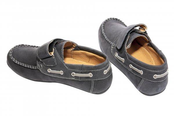 Pantofi mocasini baieti pj shoes Jose negru 27-36