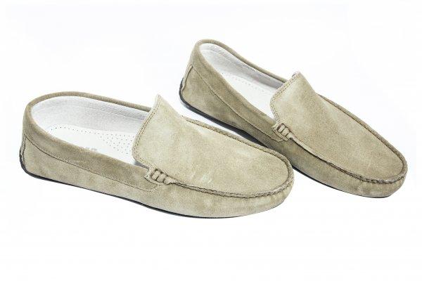 Pantofi mocasini barbati off road bej 38-45