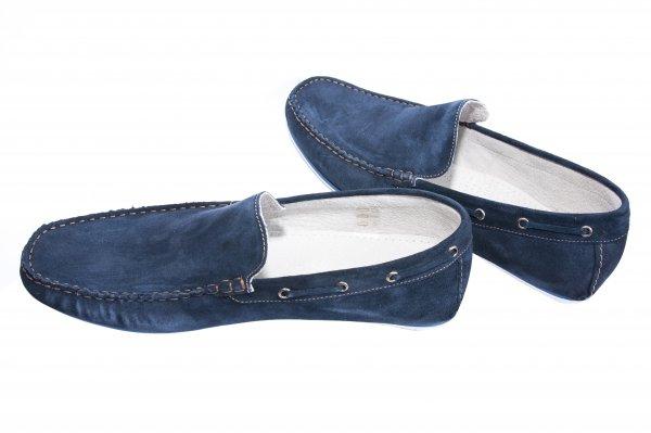 Pantofi mocasini barbati off road blu 38-45