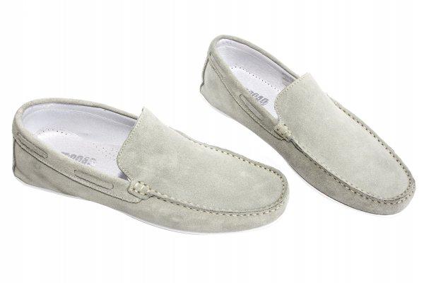 Pantofi mocasini barbati off road gri 38-45