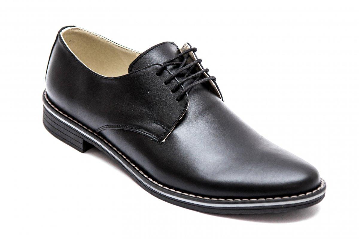 Pantofi piele barbati 9 neg-box 36-46