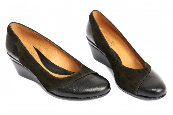 Pantofi platforma dama 219 negru 34-41