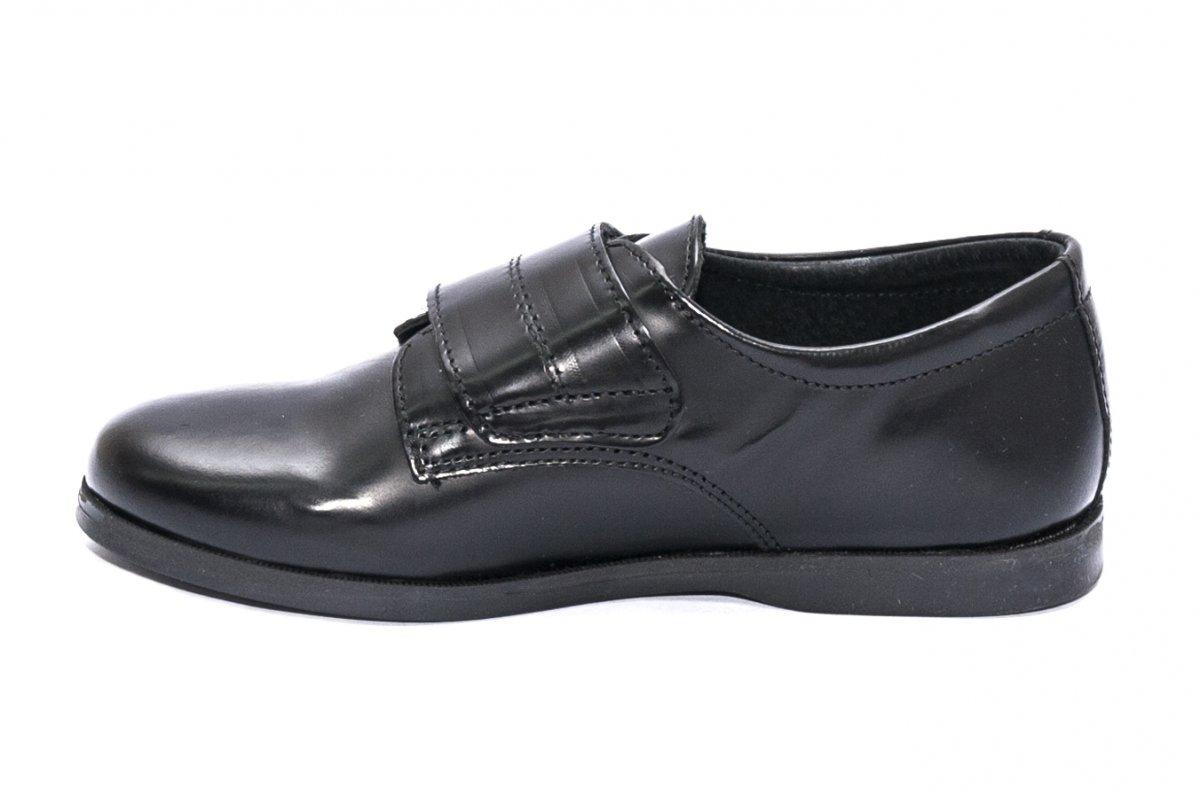 Pantofi scoala copii pj shoes Denis negru arici 24-36