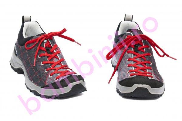 Pantofi sport Dolomite diagonal lite gri rosu 36-47