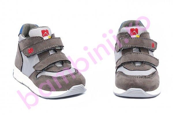 Pantofi sport baieti melania gio72 gri 20-24