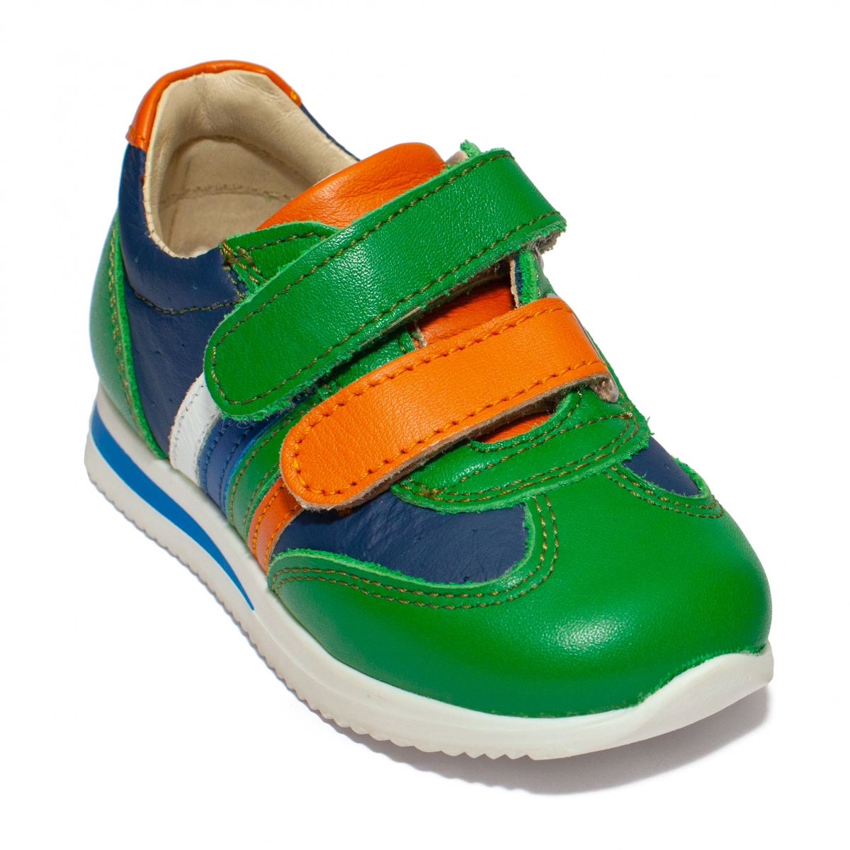 Pantofi sport copii 728 blu verde 19-28