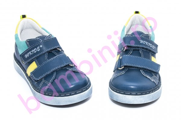 Pantofi sport copii hokide 316 albastru galben 26-35