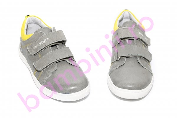 Pantofi sport copii hokide 352 gri galben 26-35