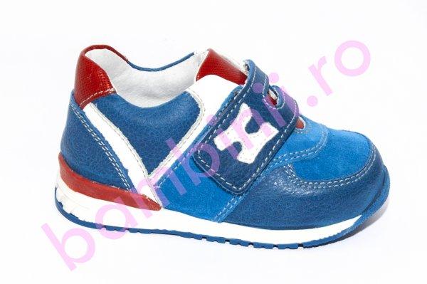 Pantofi sport copii hokide 395 albastru rosu 18-25