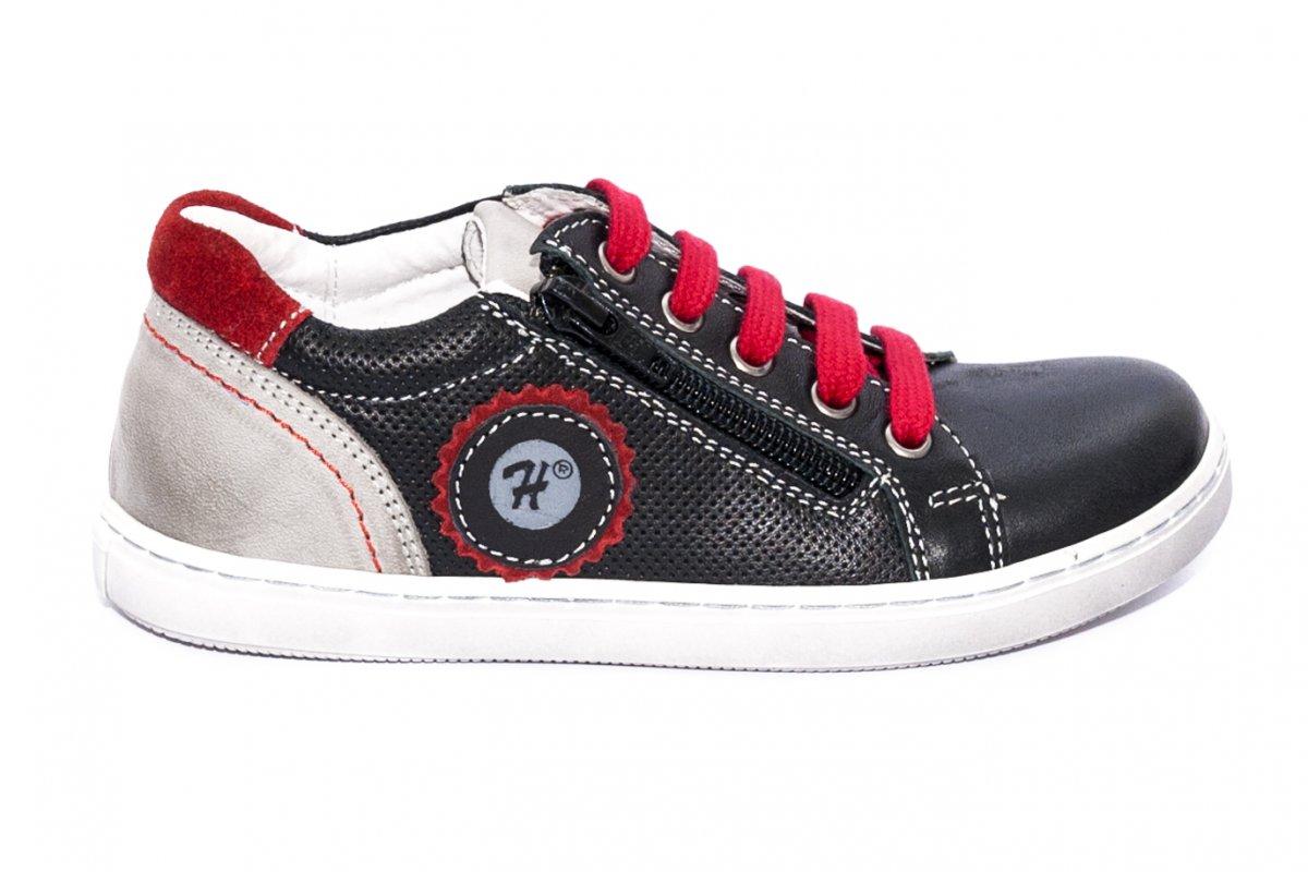 Pantofi sport copii hokide 400 negru rosu 26-37