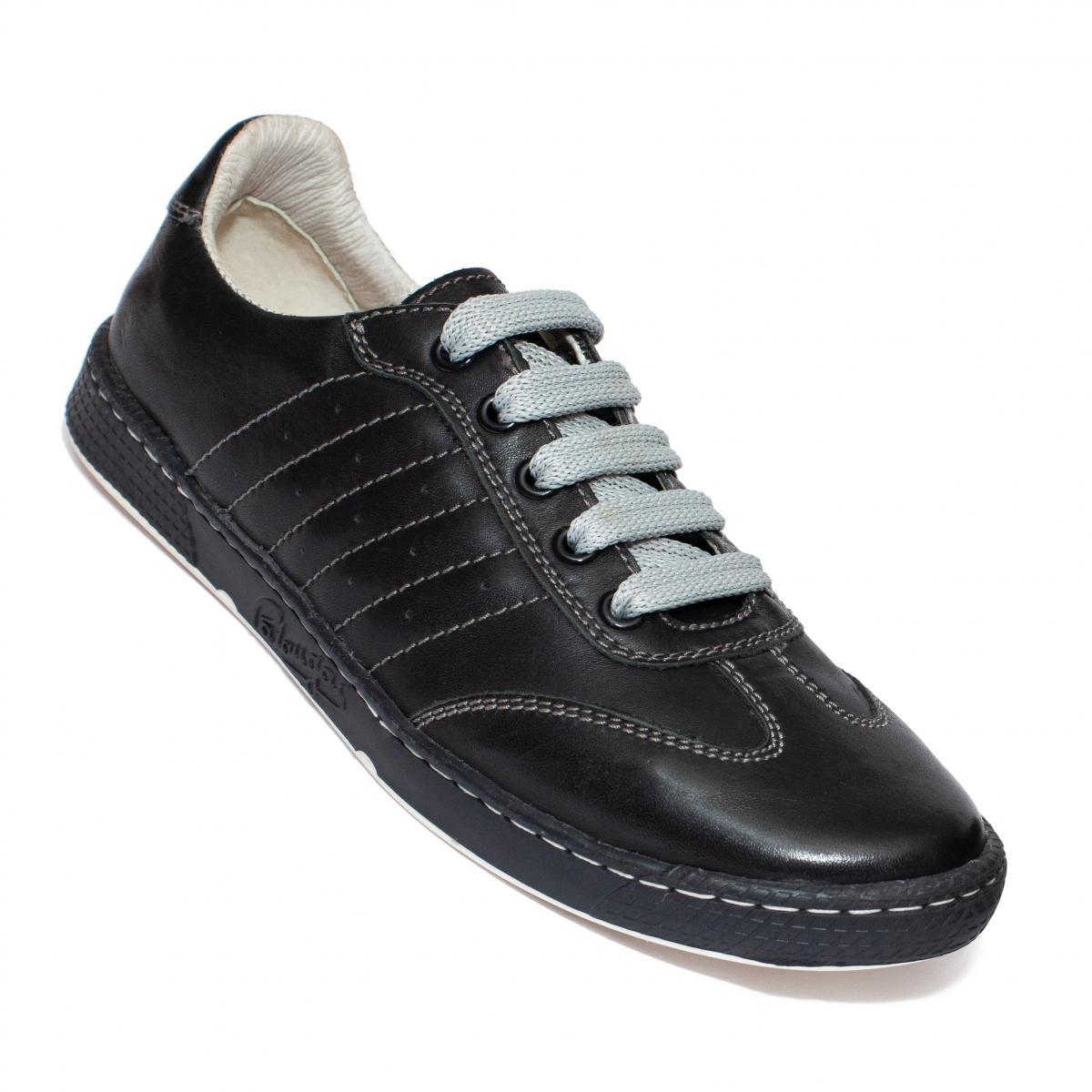 Pantofi sport copii piele 3199 negru 35-40