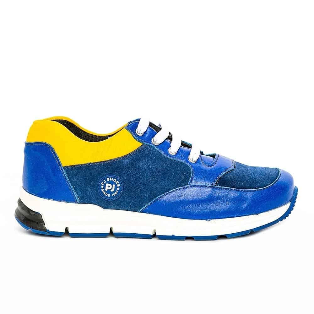 Pantofi copii sport pj shoes Horia negru rosu 27-37
