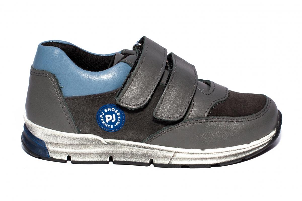 Pantofi sport copii pj shoes Horia gri 27-37