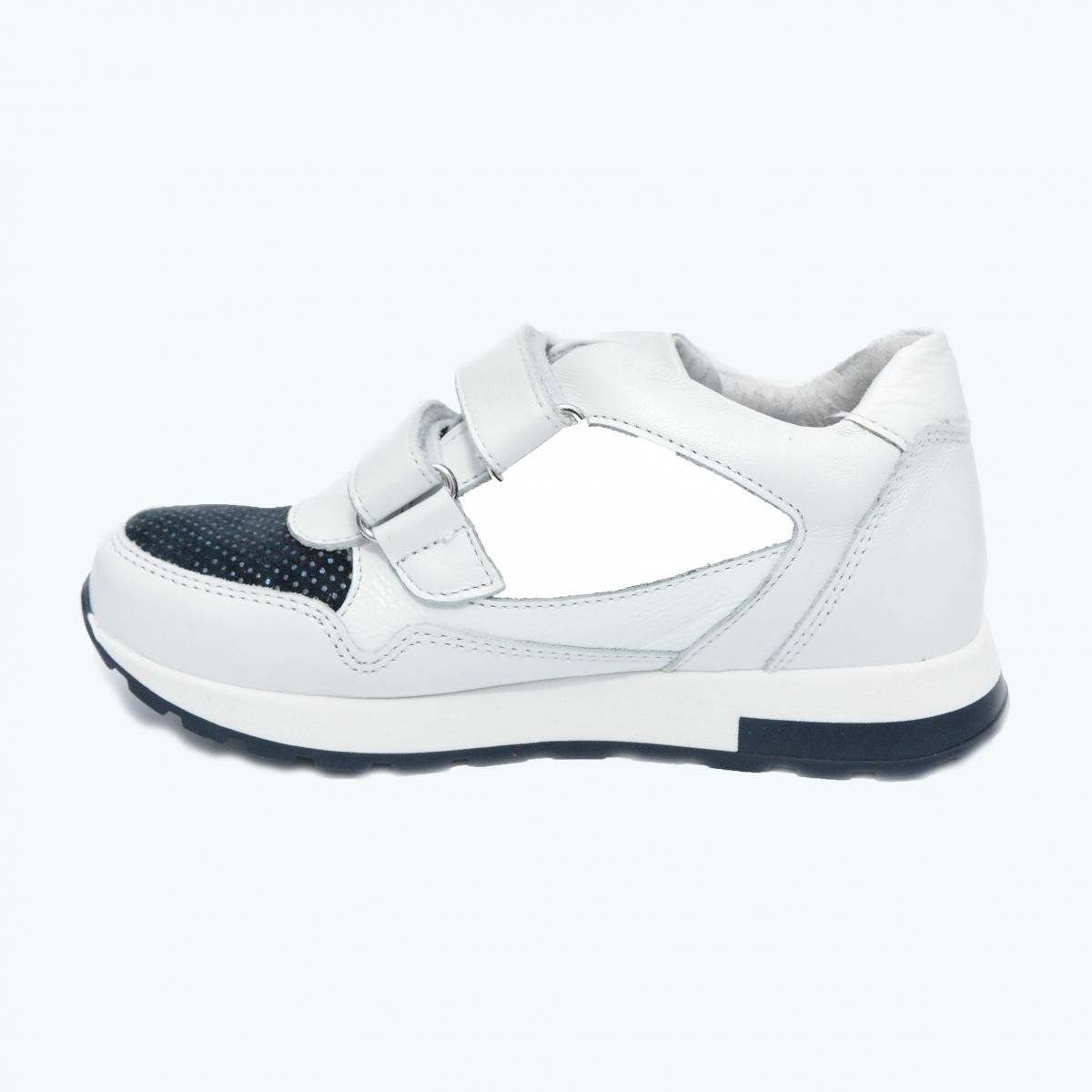Pantofi sport fete din piele hokide 450 alb 26-35